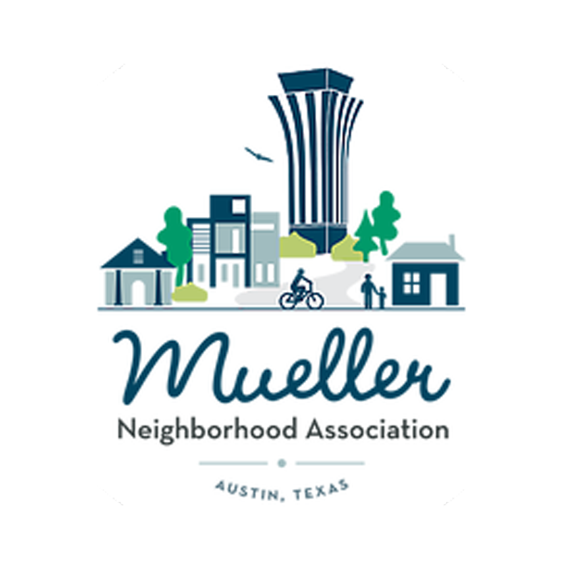 Mueller Neighborhood Association Logo